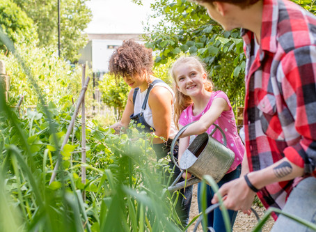 Learning In the Garden at Truxton Academy Charter School