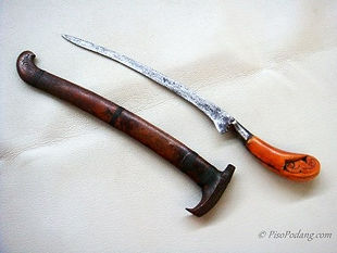Ivory Hilt Rencong Aceh Gayo