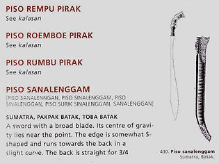 Traditional Weapon of Indonesia Archipelago page 109