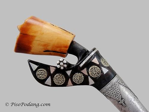 Tumbuklada Karo Dagger Ivory Hilt & Gold Dirham