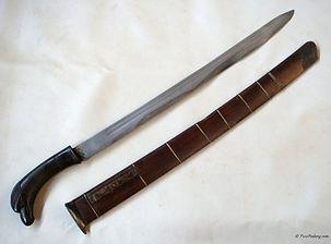 Wootz Blade Golok Sunda