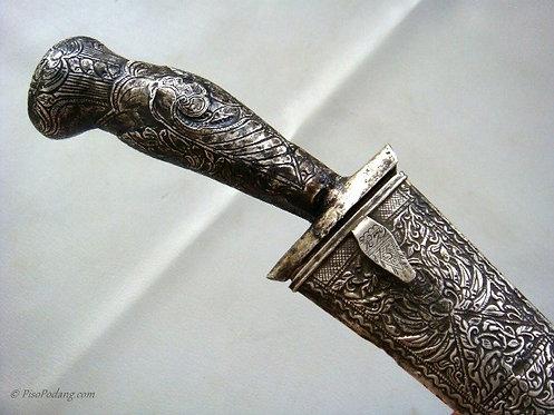 Pedang Lurus Perak Jawa