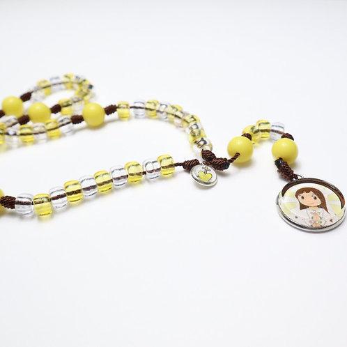Pony Rosary Medal /  Rosario Pony Medalla