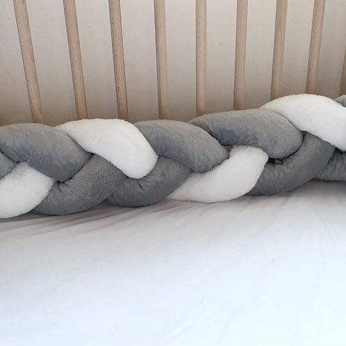 Braided Crib Bumper