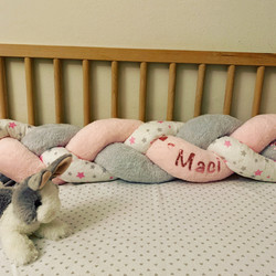 Personalized Crib Bumper