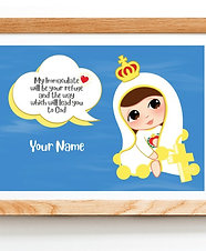 Our lady Cute Printable