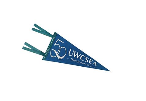 UWC 50th Anniversary Pennant