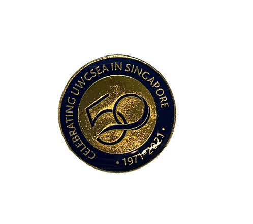 50th Anniversary Collar Pins UWCSEA (Set of 5 pcs)