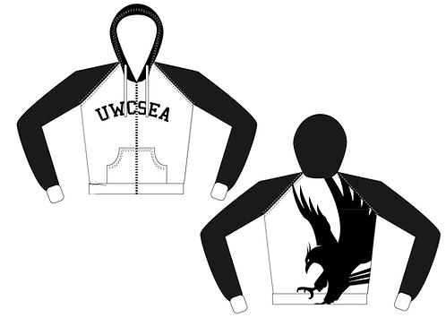 UWCSEA Black & Blue Big Phoenix Hoodie