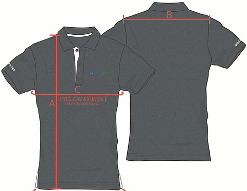 UWC Grey Polo Shirt