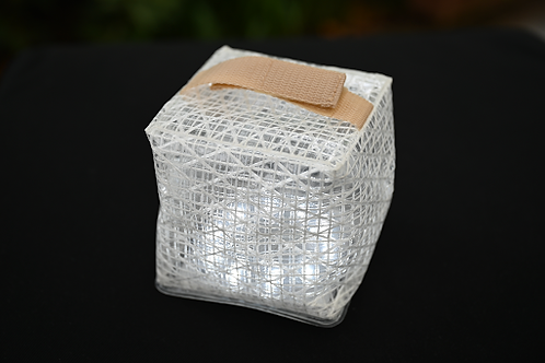 Bright White Solarpuff solar light