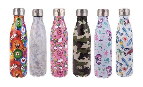 Oasis Assorted Design Bottles (500ml)