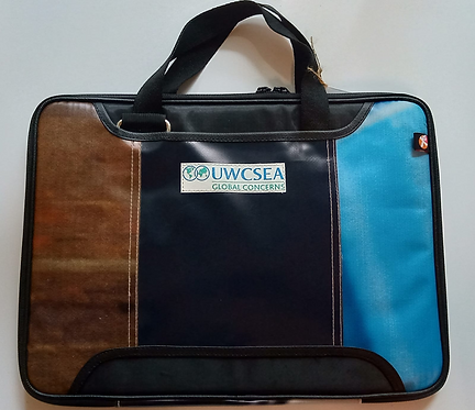 XSProject Upcycled Banners Laptop Bags