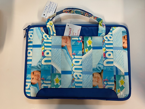 XSProject Upcycled Detergent Packaging Laptop Bags