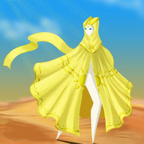 Yellow Robe