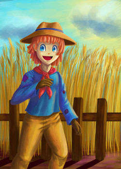 scarecrow boy