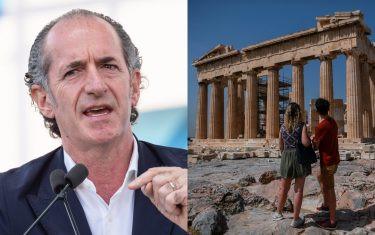 """Zaia alla Grecia: """"Limite per i veneti? Li' non ci vedrete più"""""""