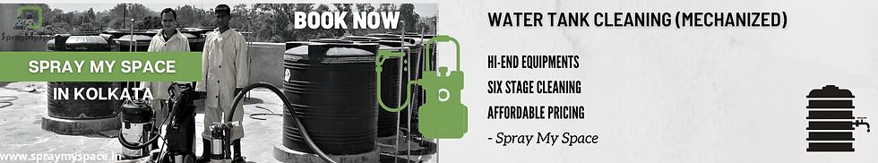 SprayMySpace Water Tank Cleaning Kolkata