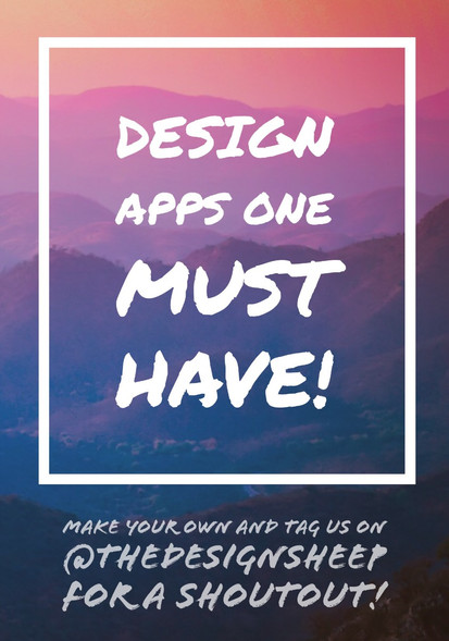 Design apps one must have!