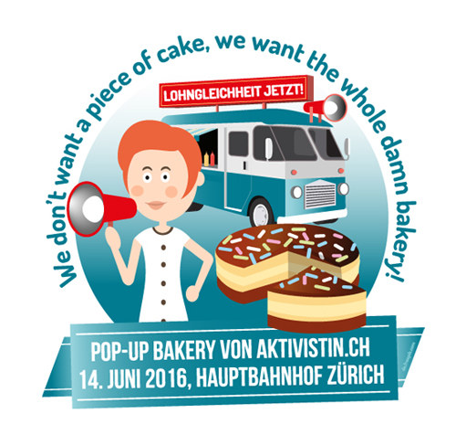 UNIA Aktion Pop up Bakery