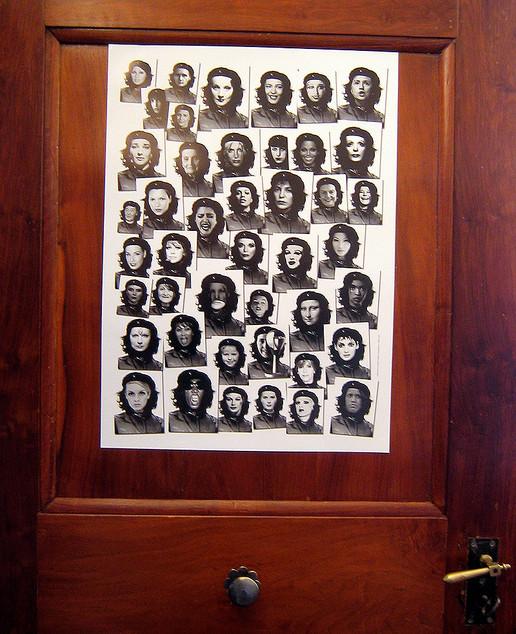 Lady Che Posters, Cabaret Voltaire, Zürich
