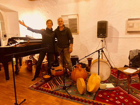 Zusammen mit Salah Mamelli