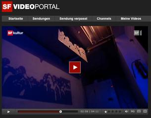 SRF Bericht über Kunst und Partyvolk