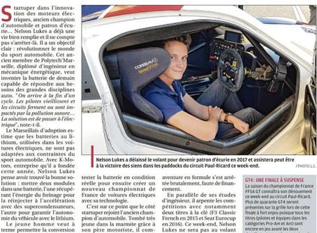 #PRESSE: La Provence, 10 Octobre
