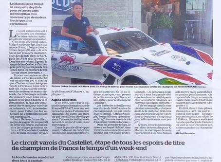 #PRESSE: Journal La Marseillaise, 10 Octobre