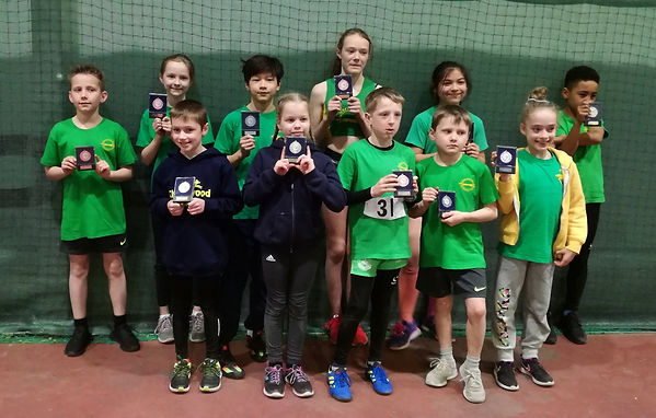 Dome Challenge - medal winners