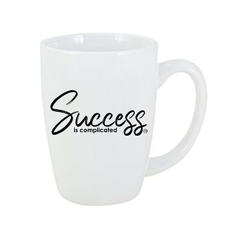 Success Grande Mug - White - 14 oz