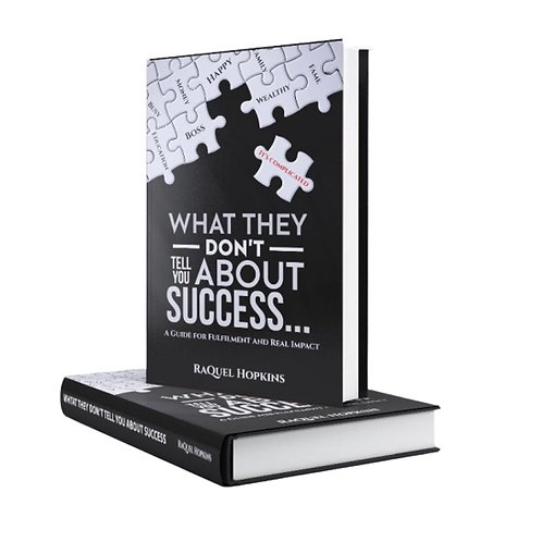 Success Is Complicated Book