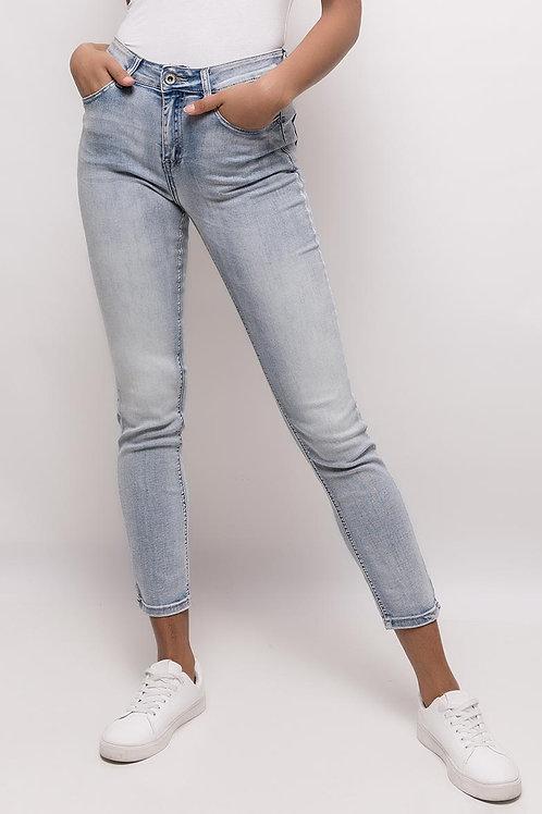 Jeans slim bleu clair