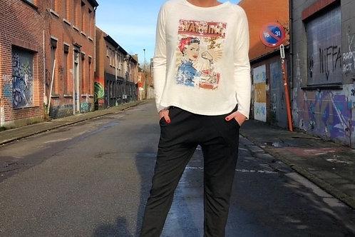 "T-shirt Comics ""Banditas from Marseille"" + coloris"