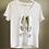 Thumbnail: T-shirt amour argenté