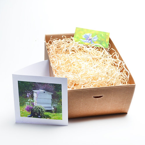 Personalised gift box and card