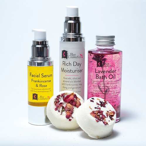 Face and body luxury gift box