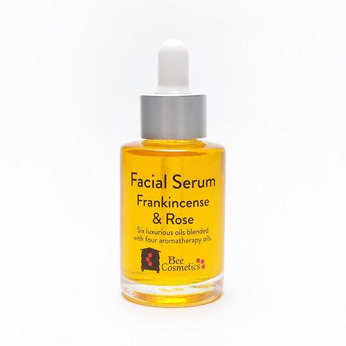 Organic Frankincense & Rose Facial Serum