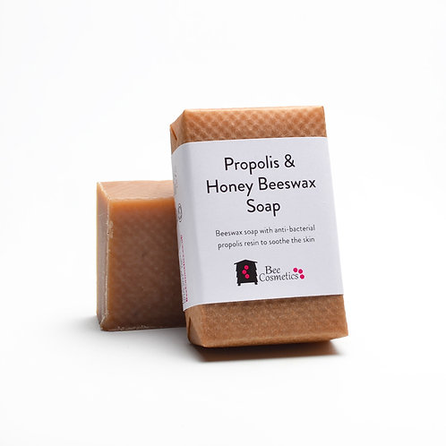 Propolis and Honey Beeswax Soap