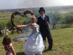 """Tsubi"" bespoke wedding dress"