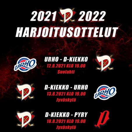 Pelaajat kaudelle 2021-2022