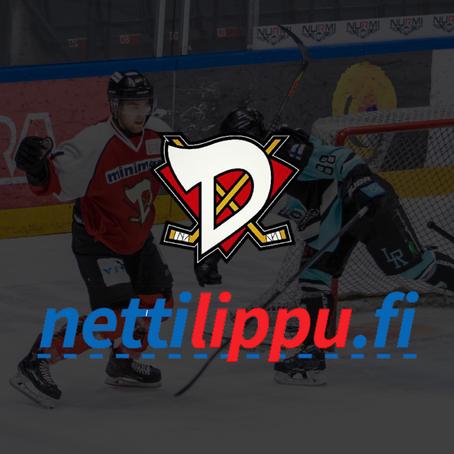 D-Kiekko ja Nettilippu.fi yhteistyöhön