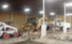 Harrison Concrete Cutting Backhoe