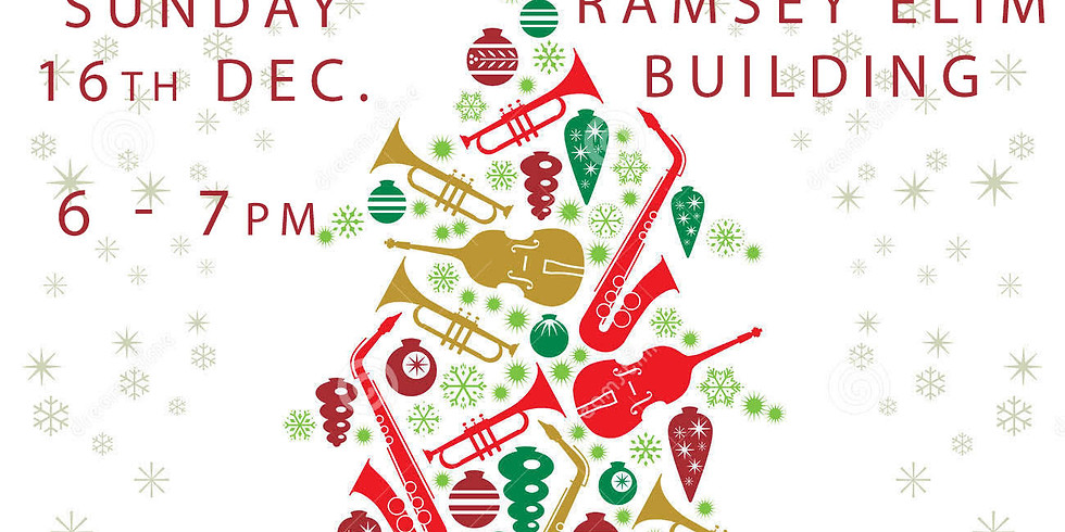 Christmas carols with the Ramsey Town Band