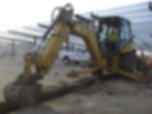Harrison Concrete Cutting Excavation Backhoe