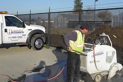 Harrison Concrete Cutting Flatsaw