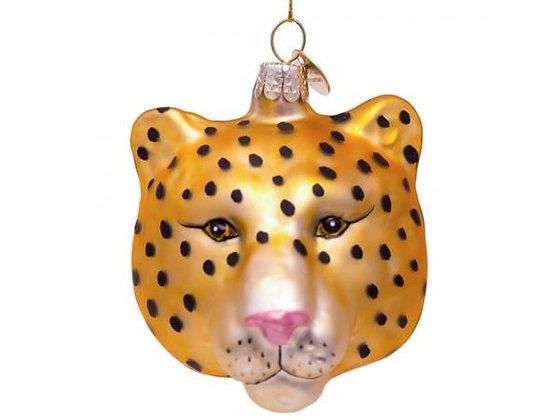 tête de panthère décoration de noël panthère boule de noel panthère decoration de noel panthere boutique cadeaux bruxelles