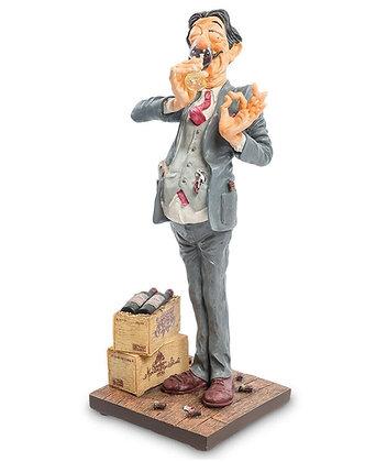 cadeau pour un amateur de vin sculpture amateur de vins cadeau pour un vigneron cadeau de noel pour homme boutique bruxelles