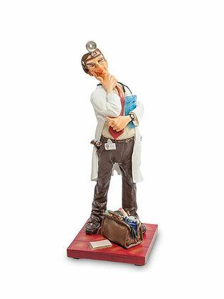 cadeau original pour un médecin cadeau pour medecin cadeau de remerciement pour un medecin sculpture médecin figurine medecin