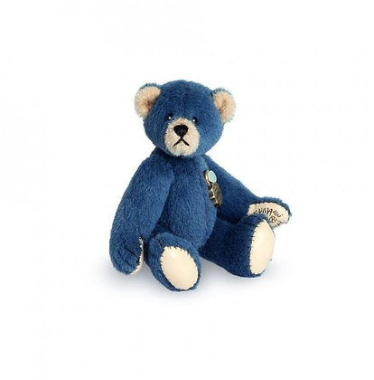 hermann ours de collection hermann teddy miniature 15418 ours bleu magasin ours de collection bruxelles boutique ours brussel